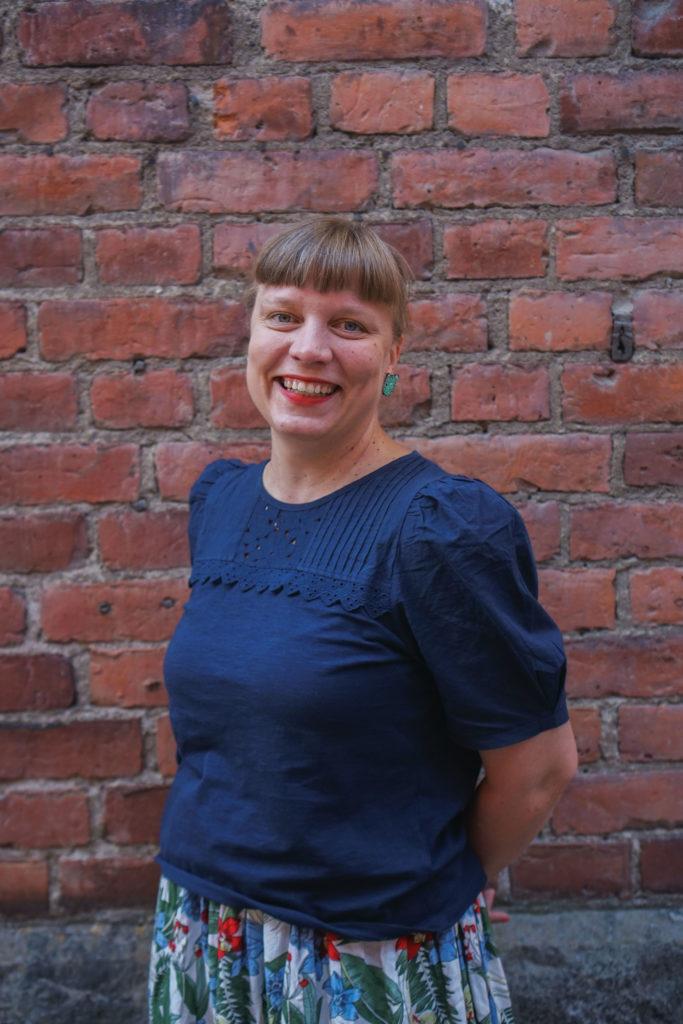 Lastenkulttuurikoordinaattori Laura Kauppinen.