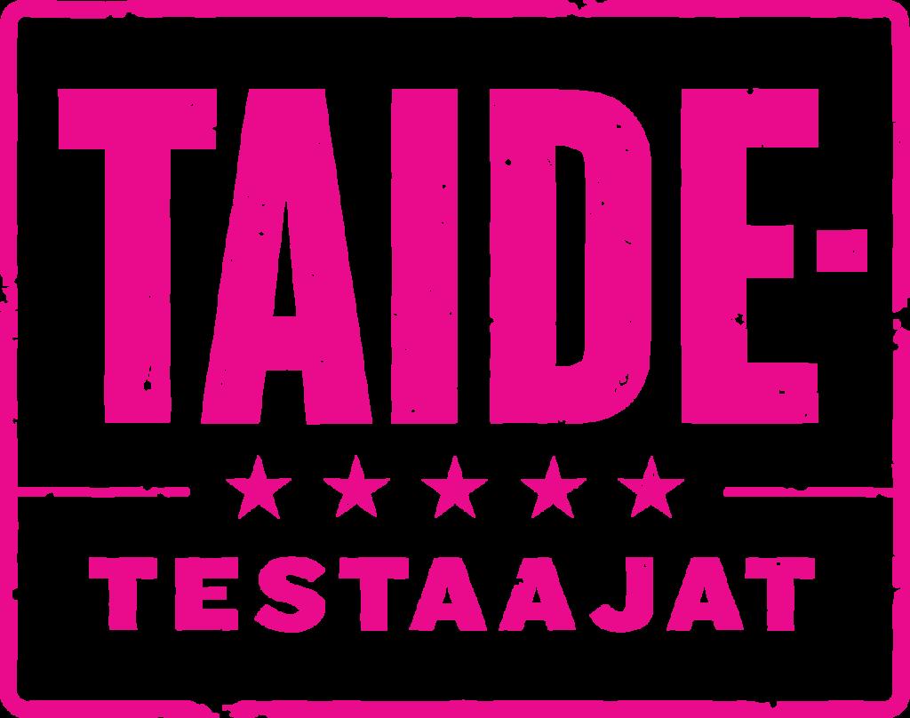 Taidetestaajat logo